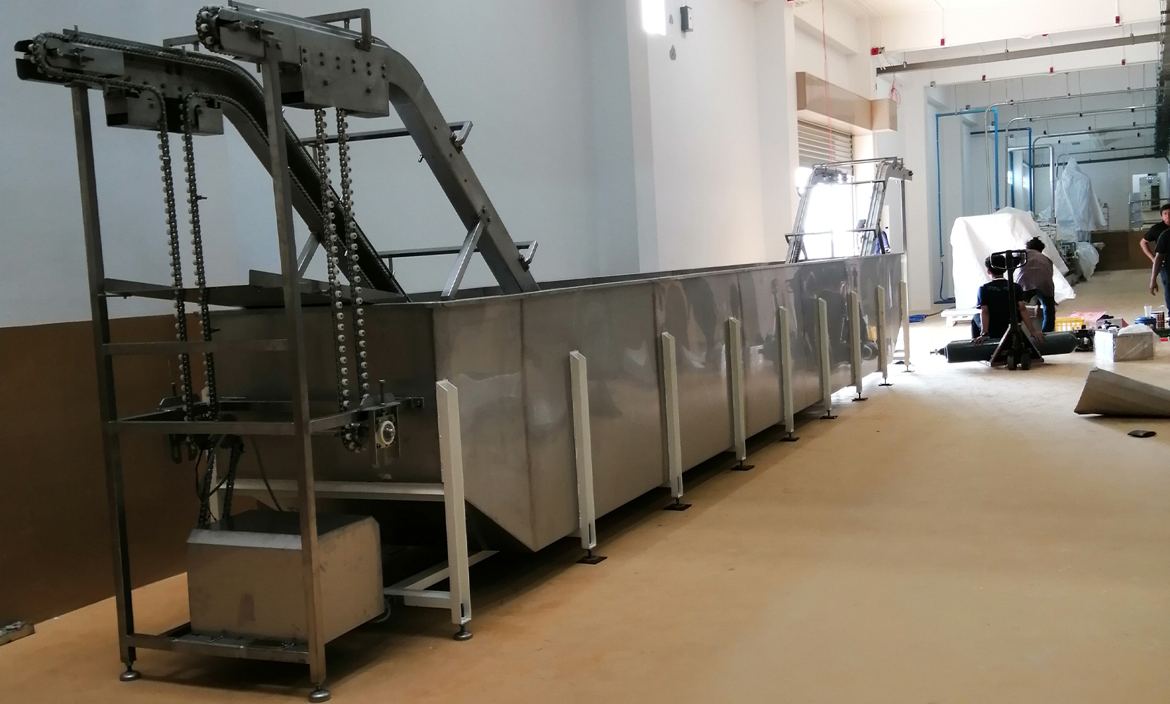 Food processing machinery manufacturing service